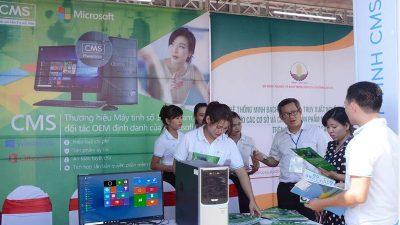 Máy tính bảo mật CMS Powercom gây chú ý tại triển lãm CNTT Lào Cai