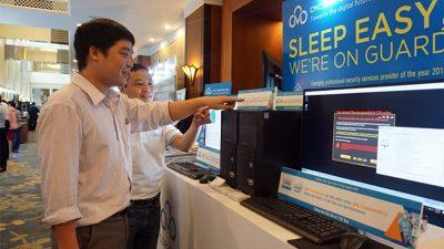 CMS ra mắt dòng máy tính Powercom bảo mật cao tại Security World 2017
