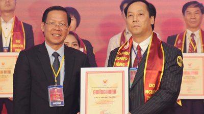 Máy tính CMS nhận danh hiệu Hàng Việt Nam chất lượng cao 2017